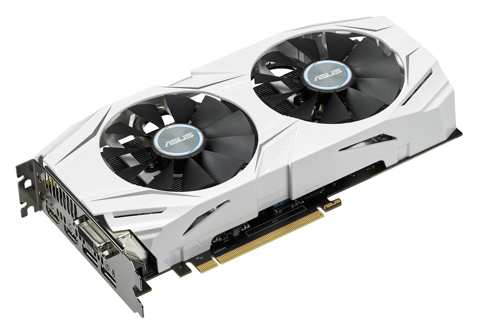 8gb ASUS GeForce GTX 1070 dual OC