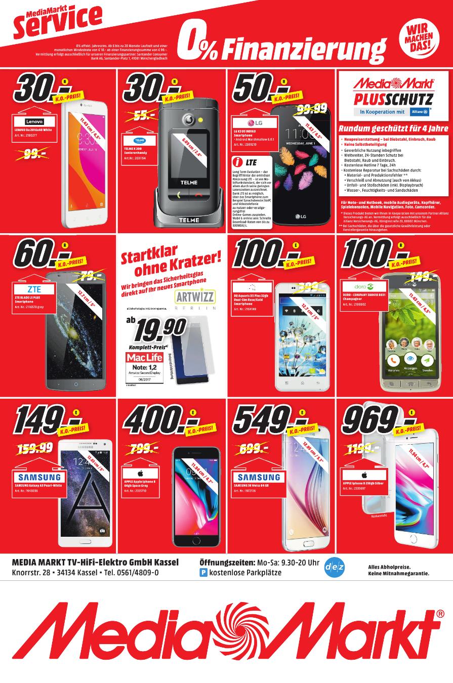 [Kassel] MediaMarkt - iPhone 8 400 €  !!! LOKAL