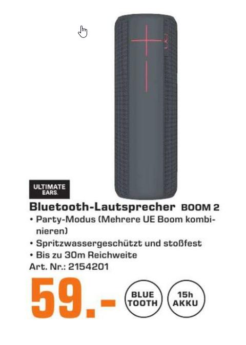 UE Boom 2 (Saturn Prospekt Köln Porz)