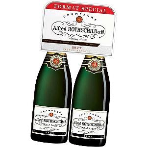 [Grenzgänger FR] Champagner Alfred Rothschild 2 Flaschen zu je 0,75 L für 27,96 € bei E. Leclerc (VGP Deutschl. 35,20 € für eine Flasche)