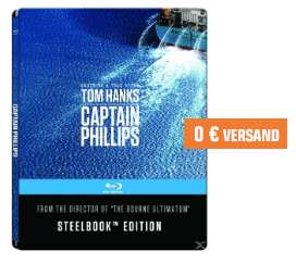 Blu-ray Steelbooks für je 7,99€ inkl. Versand - z.B. Captain Phillips (Saturn SammelDeal)
