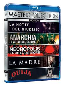 The Purge + The Purge Anarchy + Katakomben + Mama + Ouija (5x Blu-ray) für 13,56€ (Amazon.es)