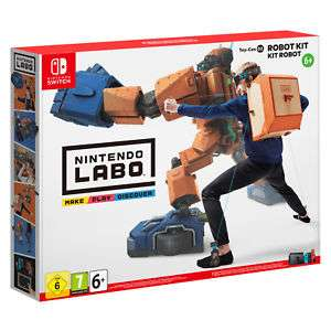 [Saturn/ebay] Nintendo Labo - 02 Robo Set - Nintendo Switch