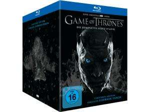 Game of Thrones: Die komplette siebte Staffel Limited Edition inkl. Mini Thron Figur (Blu-ray + 2 Bonus Blu-ray + UV Copy) für 35 (eBay Plus Saturn)