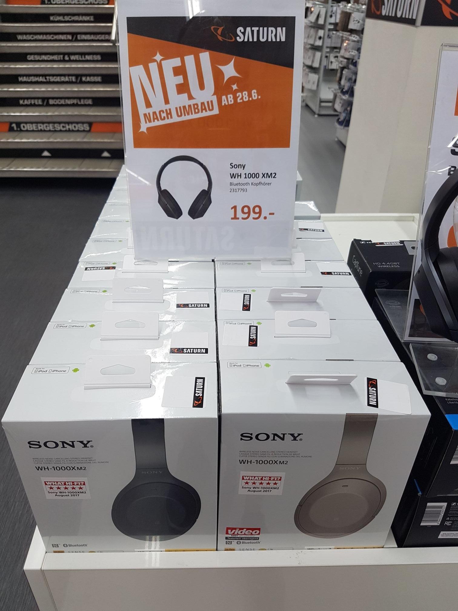 [LOKAL Leipzig] Sony WH-1000XM2 Bluetooth-Kopfhörer mit ANC