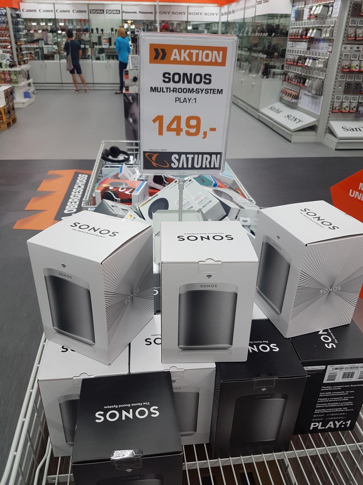 [LOKAL Leipzig] Sonos Play:1 WLAN-Lautsprecher