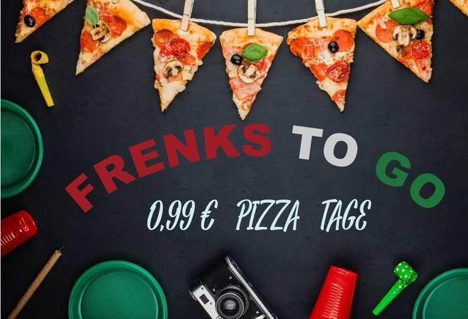 """Letzte Chance! Heidelberg - 24cm Ø Pizza für 0,99€ am 05./09./11.07. bei """"Frenks to go"""""""