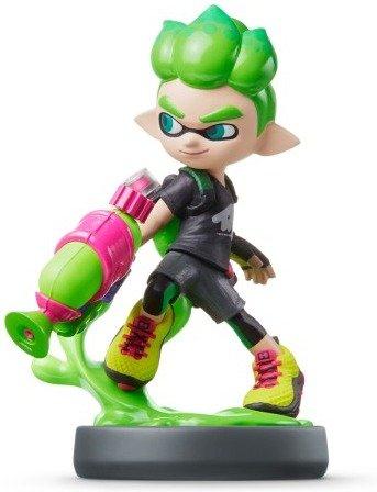 Nintendo amiibo (Splatoon Collection) Inkling-Junge für 12,99€ (Amazon Prime & Saturn)