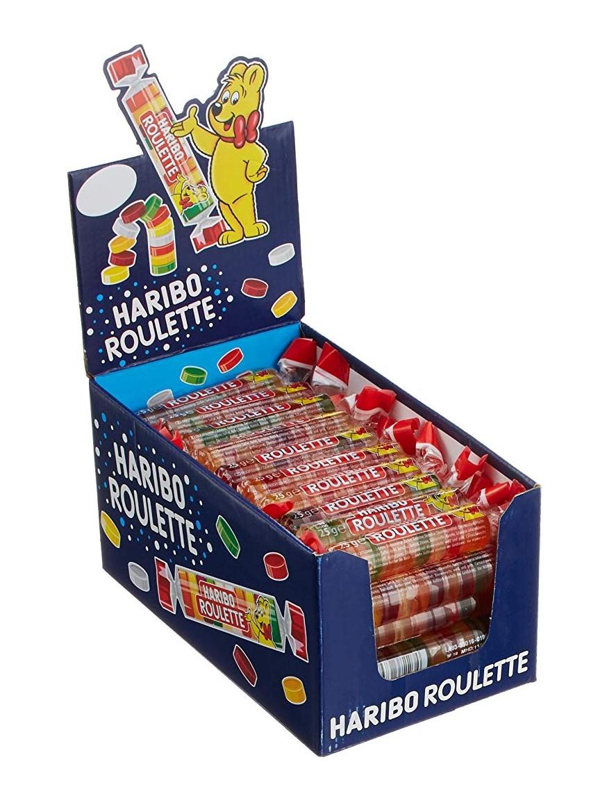 Haribo Roulette 50 Rollen, 1.25 kg [Prime]