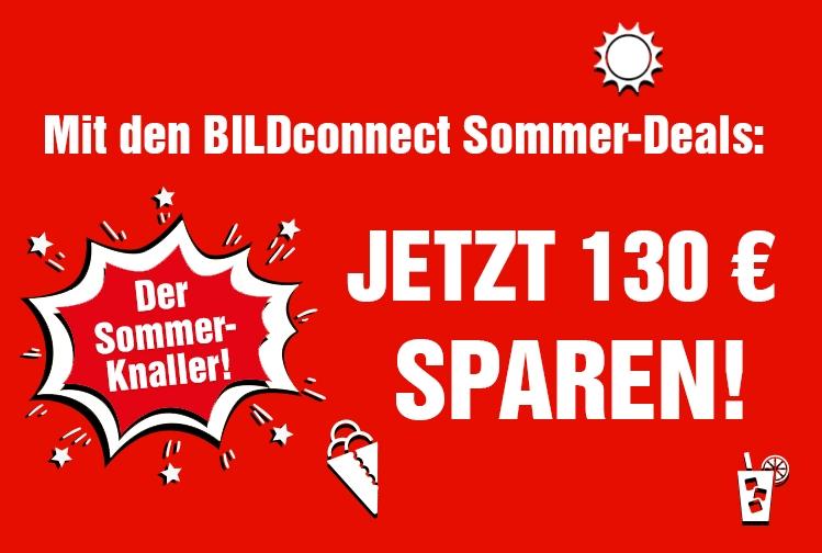 BILDconnect Sommerdeal - Allnet Flat 3GB LTE SMS mit Bildplus