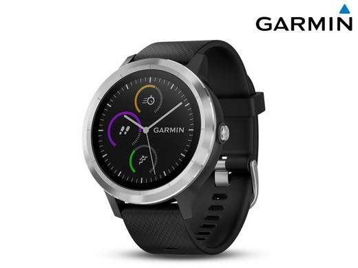 Garmin Vívoactive 3 GPS-Fitness-Smartwatch schwarz-silber