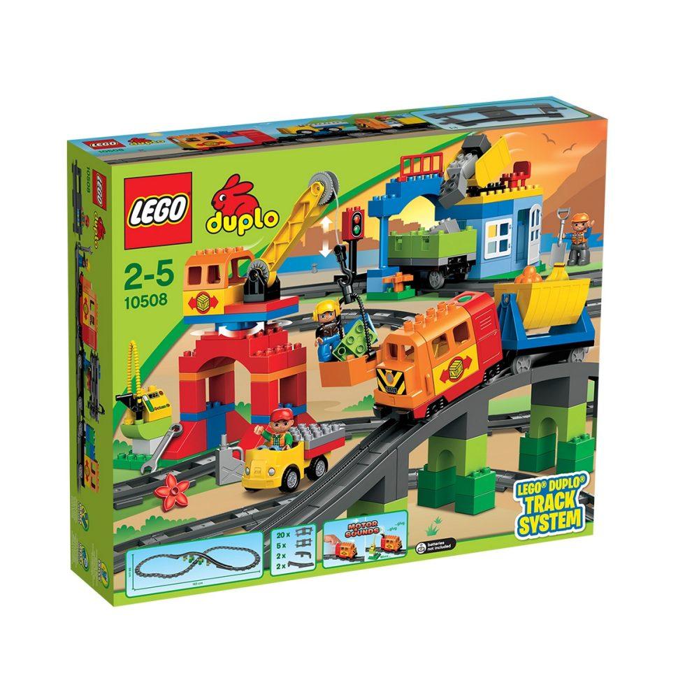LEGO Duplo - Eisenbahn Super Set (10508) für 66,90€ [Interspar.at]