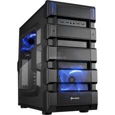 Sharkoon BD28 blue edition Tower Gehäuse ( Paydirekt versandkostenfrei )