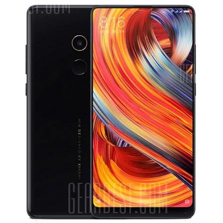 Xiaomi Mi Mix 2  6 GB 256 GB Global Band 20  BLACK Smartphone