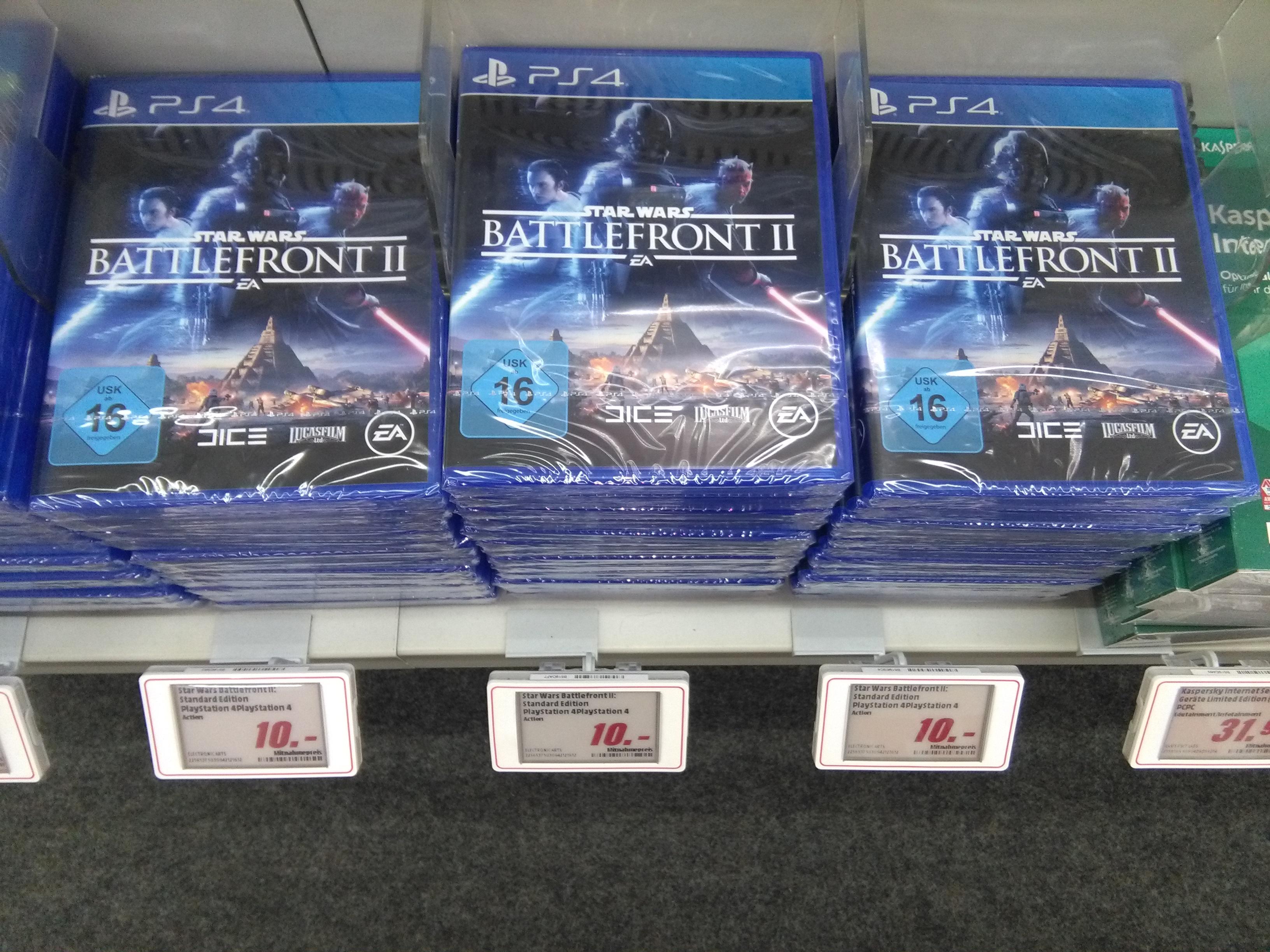 PS4 Star Wars Battlefront 2 in Media Markt Bochum Hofstede