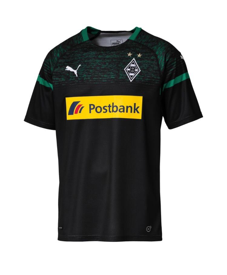 Borussia Mönchengladbach Herren Auswärtstrikot Saison 2018/2019 Presale