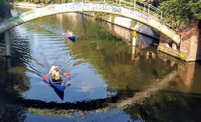 2-stündige Kanu-Guide-Tour durch Berlin - 2 Personen minus 50 %