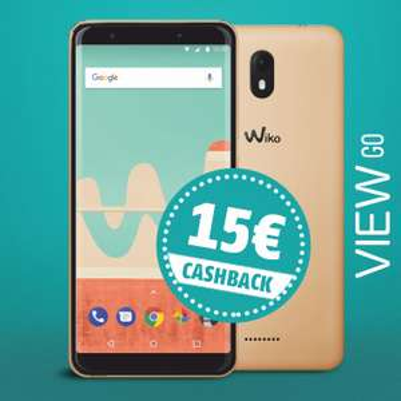 Wiko View GO TAGESAKTION bei modeo.de 115€ - Nach Cashback(15€) nur noch 100€!