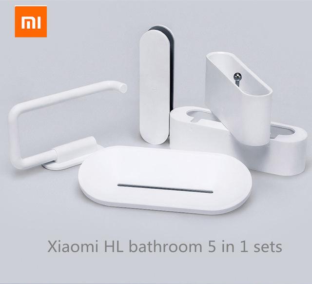 Die Original Xiaomi Mijia Ausstattung fürs Gästeklo