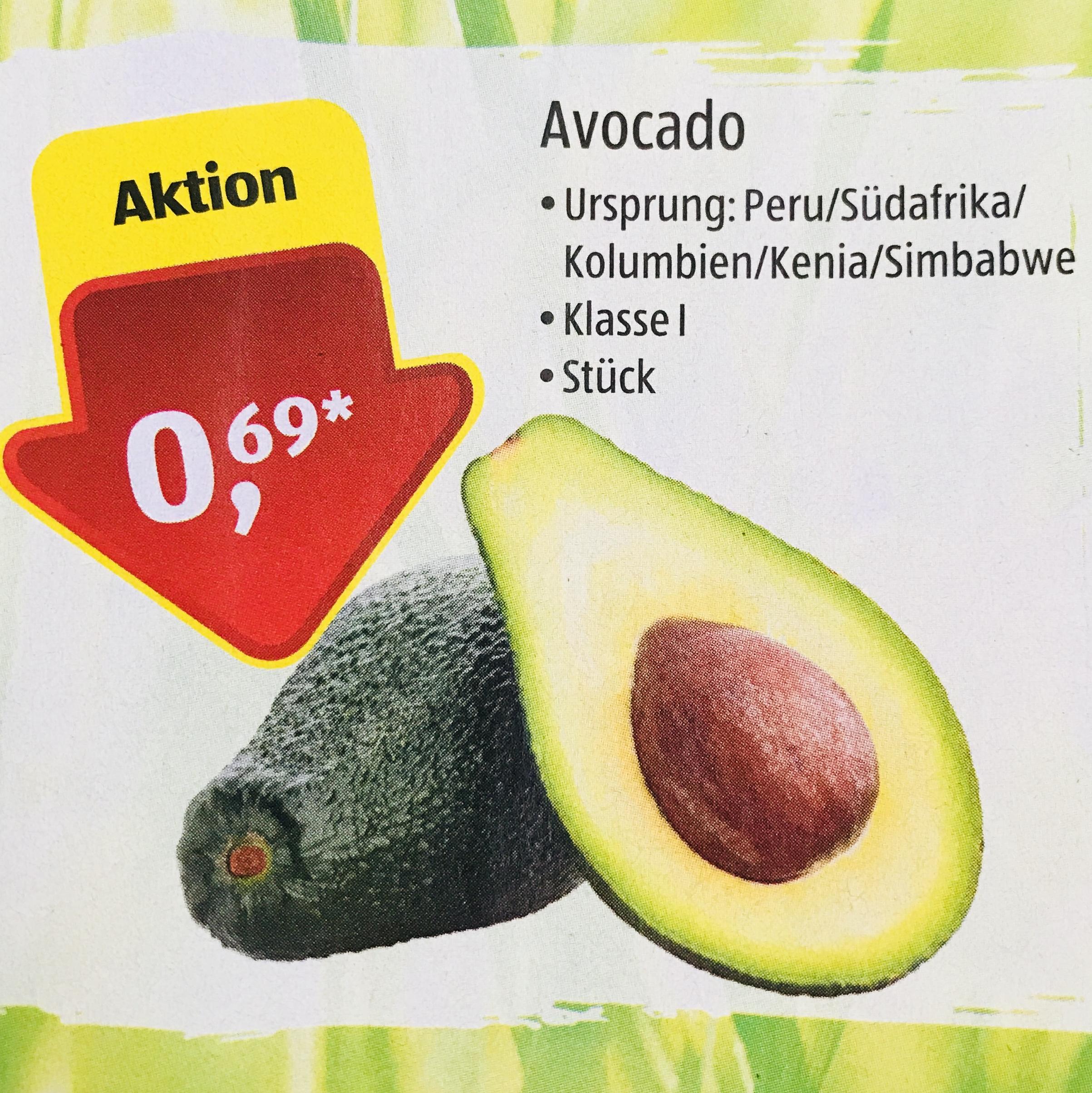 Erstklassige Avocados  [ALDI Süd]