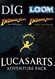 LucasArts Adventure Pack (Indiana Jones: Fate of Atlantis + Last Crusade + Loom + The Dig) für 2,37€ [Steam]
