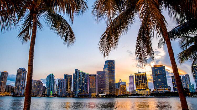 Reise: USA [September - Dezember] Hin- und Rückflug nach Miami, Mietwagen, Unterkunft (1 Woche) für 669 € pro Person bei einer Reise zu zweit / 505 € bei einer Reise zu viert