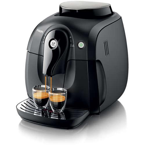 [Philips] Philips HD8650/01 2000 Serie Kaffeevollautomat Keramikmahlwerk schwarz