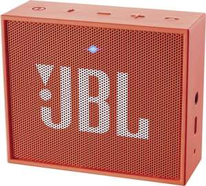 JBL Go Bluetooth Lautsprecher in orange