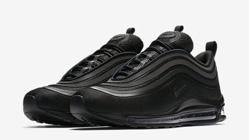 Nike Air Max 97 Ultra '17 All Black bis Gr. 46