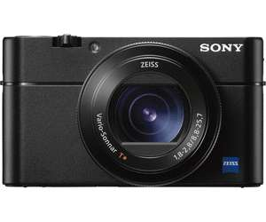 Kompaktkamera Sony Cyber-shot DSC-RX100 Mark V (20.1 Megapixel, 2.9x optischer Zoom, 4K-Video) + 70€ Saturn-Coupon