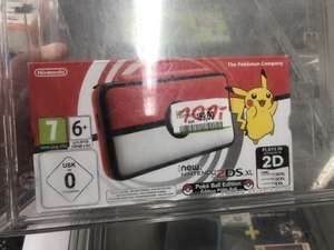 Nintendo 2DS XL Pokeball - Edition / Media Markt Mülheim Ruhr / LOKAL