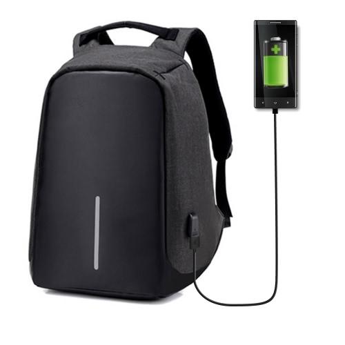Laptop Reiserucksack mit USB-Stecker Ladeanschluss