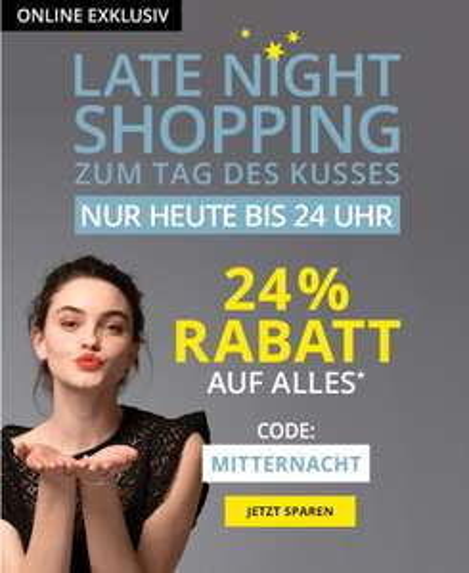 [TAKKO] Late Night shopping nur heute 24% auf alles!