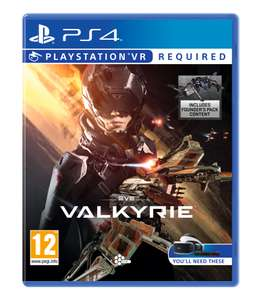 EVE: Valkyrie (PS4-VR) für 13,60€ (Amazon IT)