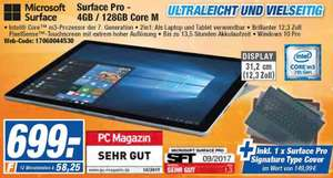 (Lokal Expert Flensburg) MS Surface Pro 4GB 128GB Core M3 7. Gen + Signature Type Cover