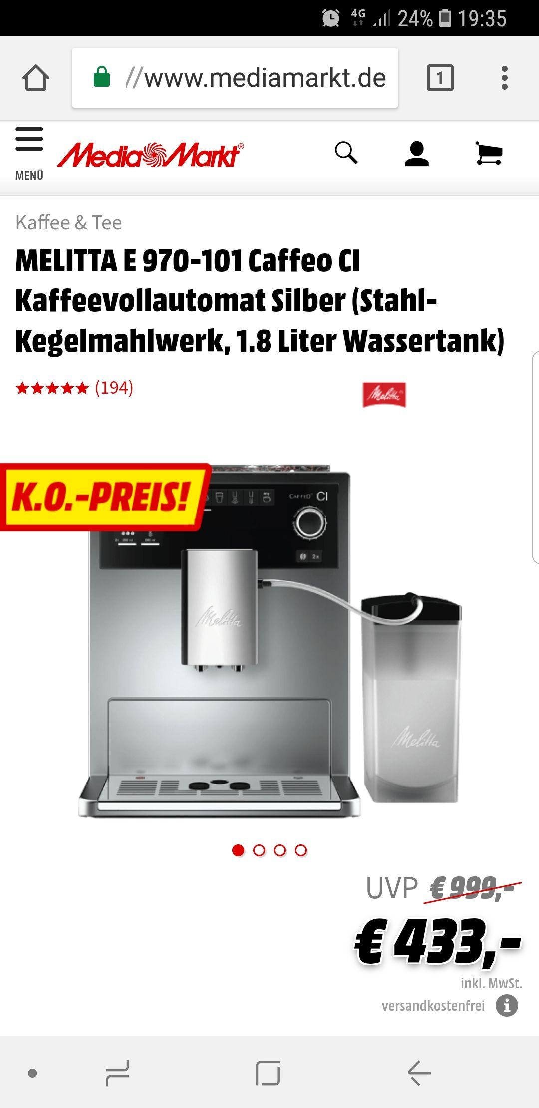 Melitta E970-101 Media Markt Online
