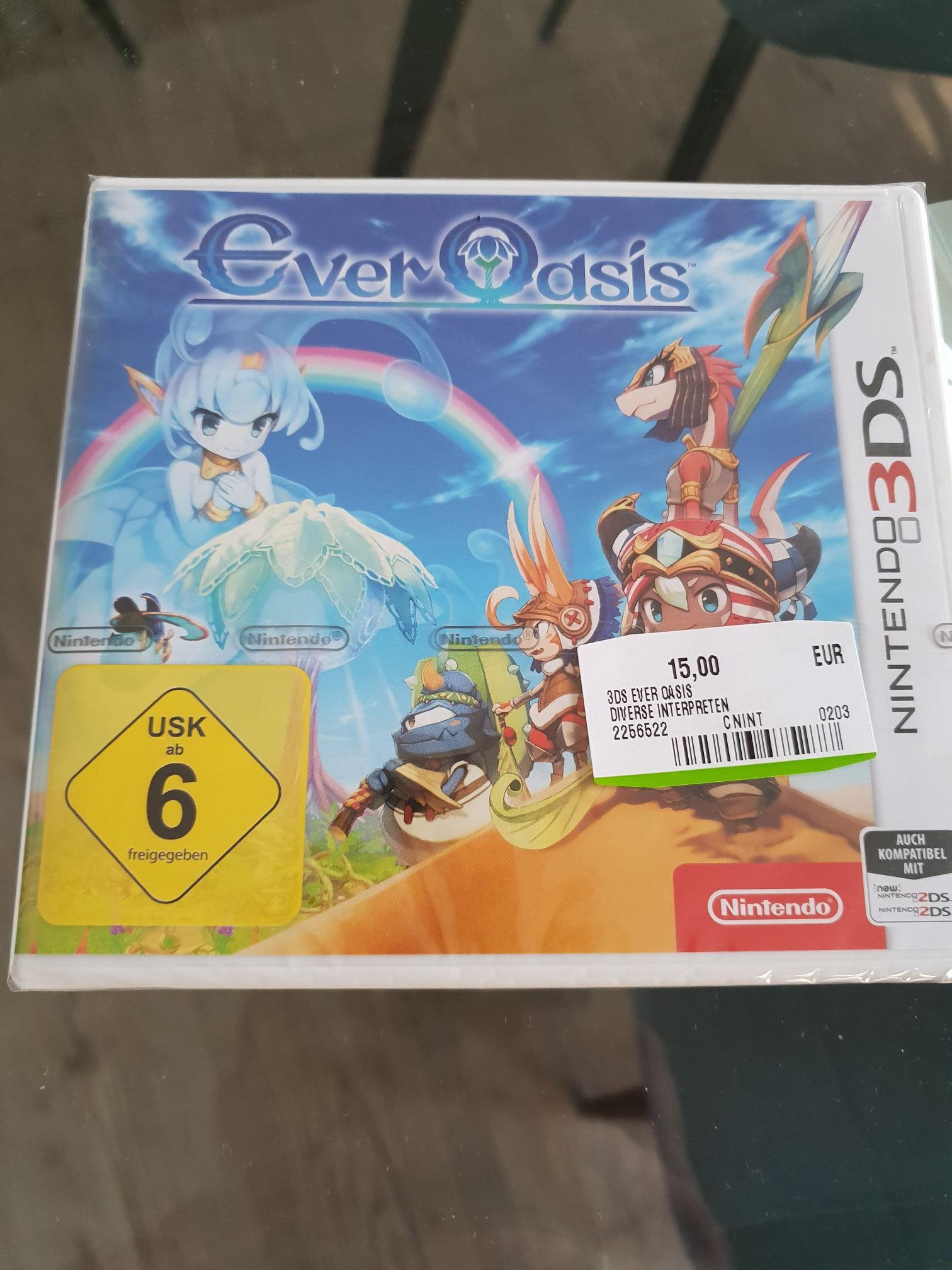 [Lokal] Ever Oasis 3DS 15€ Mediamarkt Stade
