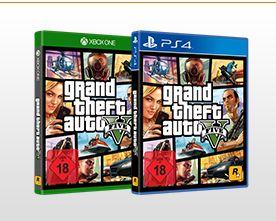 GTA 5 - Grand Theft Auto V - Xbox One und Playstation 4 für je 22,-€ [Saturn]