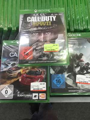 [MM Steglitz] Call of Duty: WWII 15€, Project Cars 2 10€ beide für Xbox One