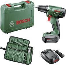 Bosch Home and Garden PSR 14 Akku-Bohrschrauber 14.4V 1.5Ah Li-Ion inkl. Akku, inkl. Zubehör, inkl. Koffer bei Voelkner