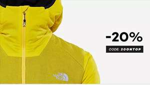 20% auf North Face und Sale Artikel bei Planet Sports