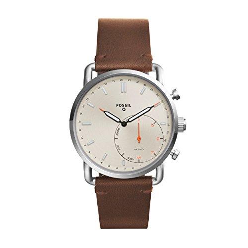 Fossil Herren-Armbanduhr FTW1150 Hybriduhr Q Commuter