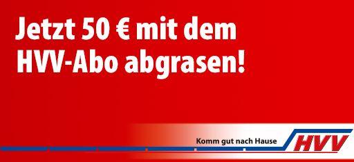 *LOKAL HAMBURG* HVV Sparen bei Jahres Karte