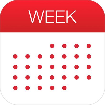 [iOS] Week Calendar App kostenlos [nur iPhone!]