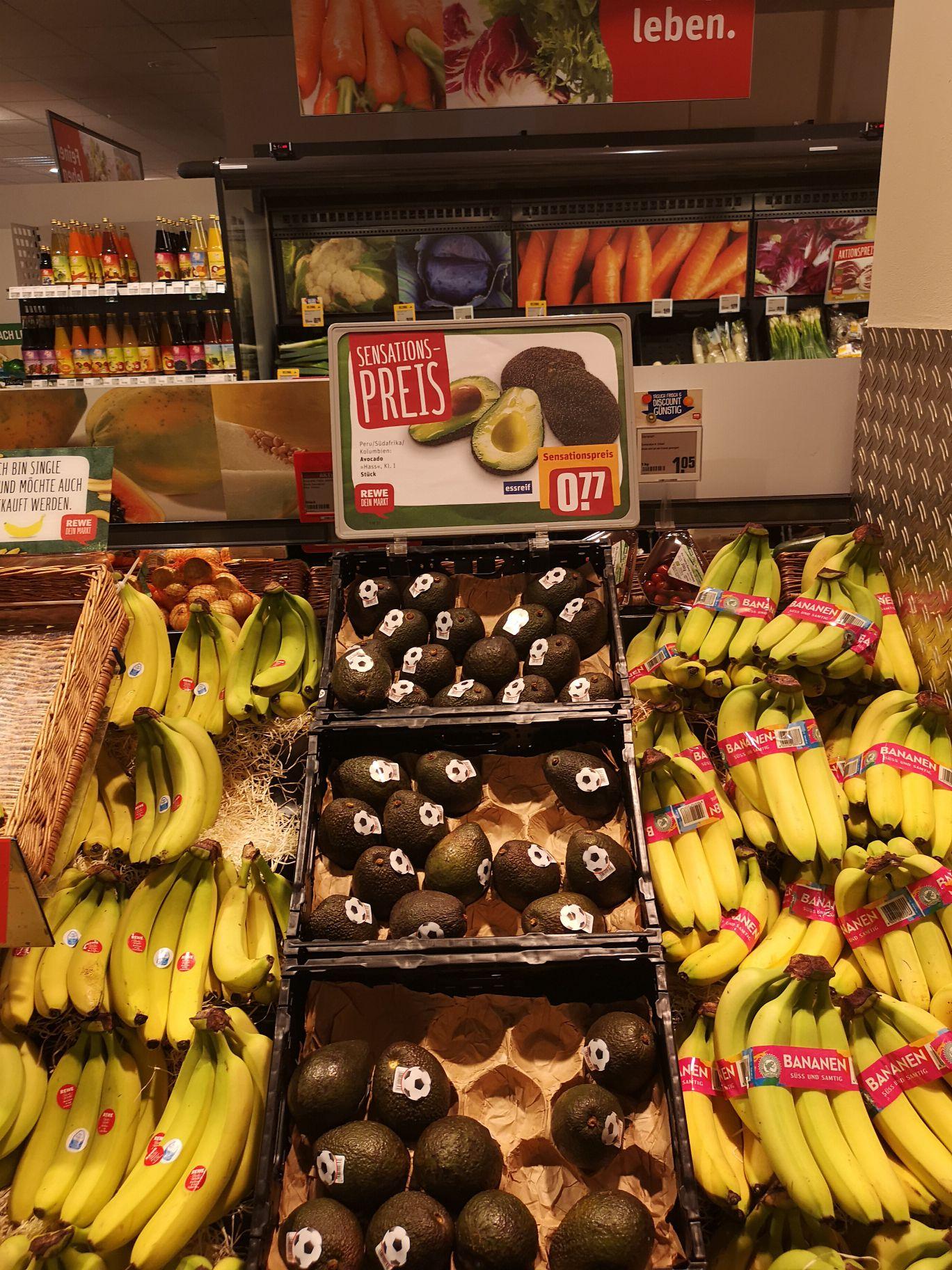 [Lokal Münster REWE] Avocados für 0,77€