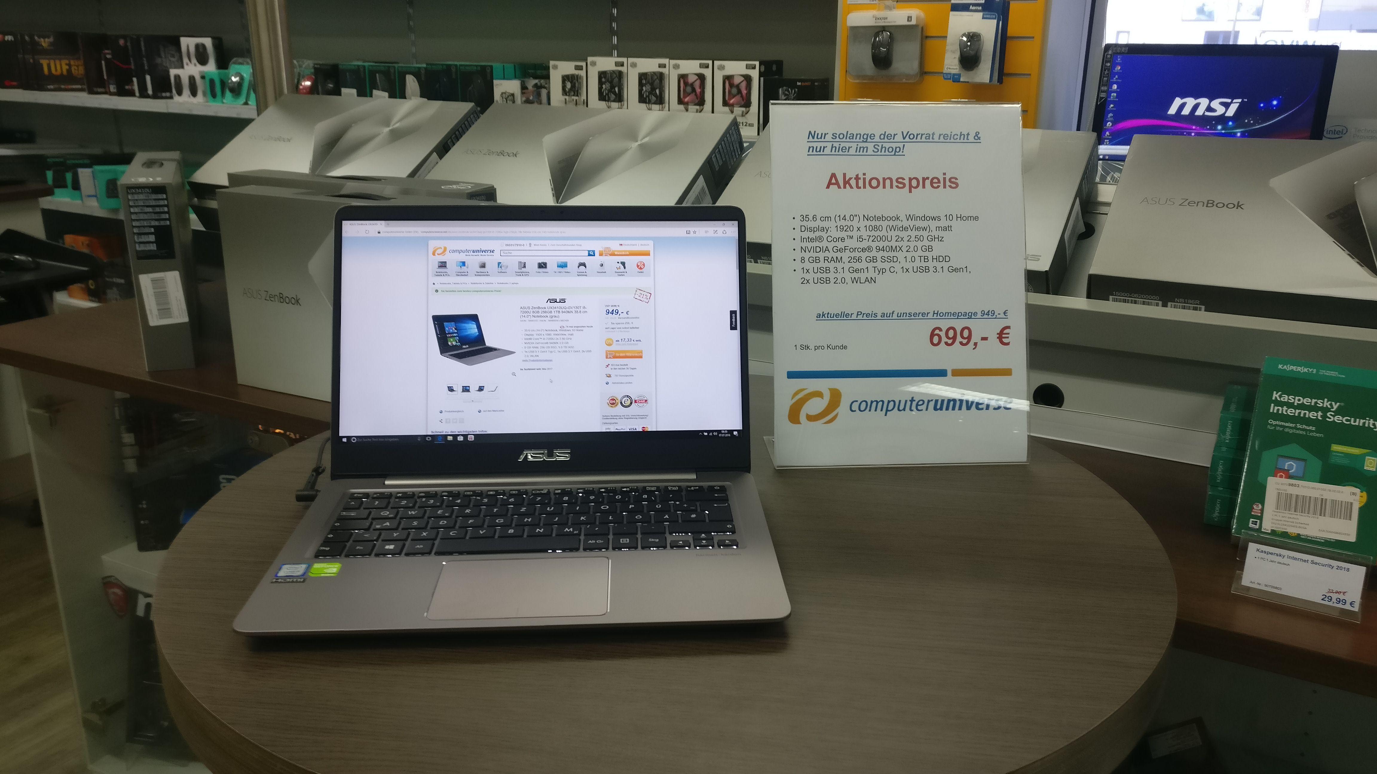 Asus ZenBook UX3410Q-GV140T in 61169 Friedberg