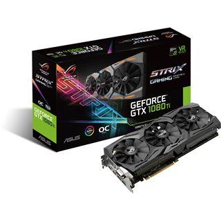 """""""Ohne Liefertermin"""": Grafikkarte ASUS ROG Strix GeForce GTX 1080 Ti OC (90YV0AM0-M0NM00)"""