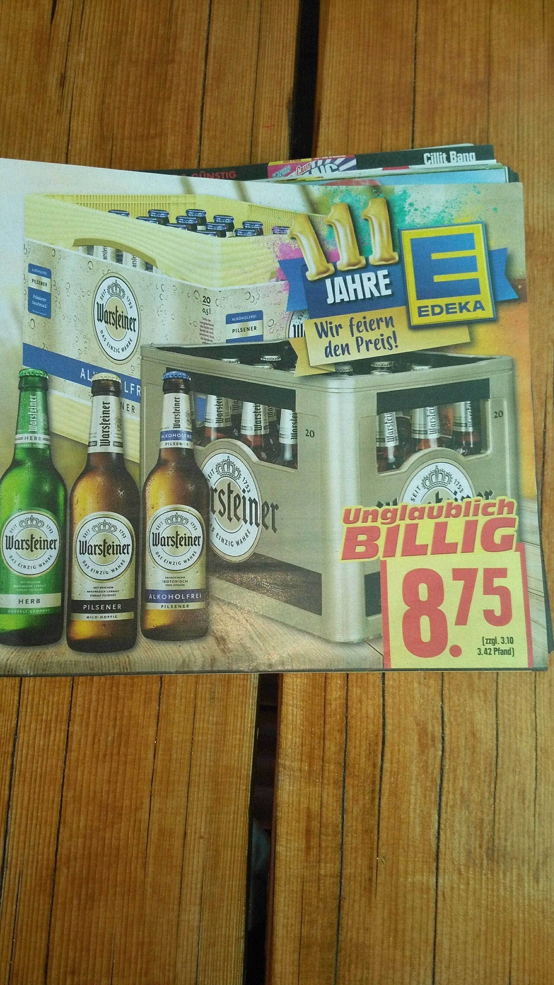 Warsteiner Pilsner, Herb oder Alkoholfrei 20x0,5L lokal evtl regional