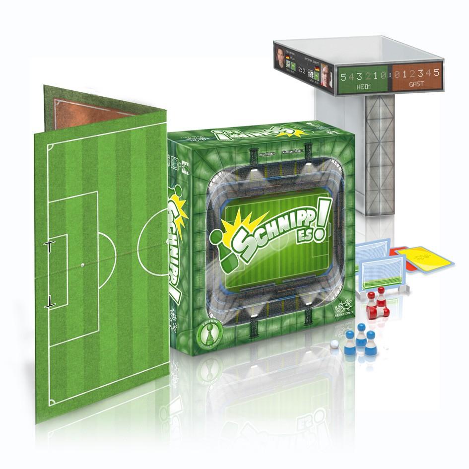 Brettspiel Schnipp Es! | Edition 3-teiliger Pöppel