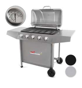 [Amazon] Broil Master Gasgrill 5 Brenner ( Silber )